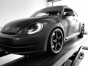 DTH Sport 76mm Abgasanlage New Beetle